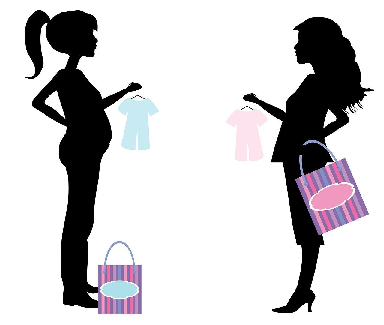 pregnant, woman, women